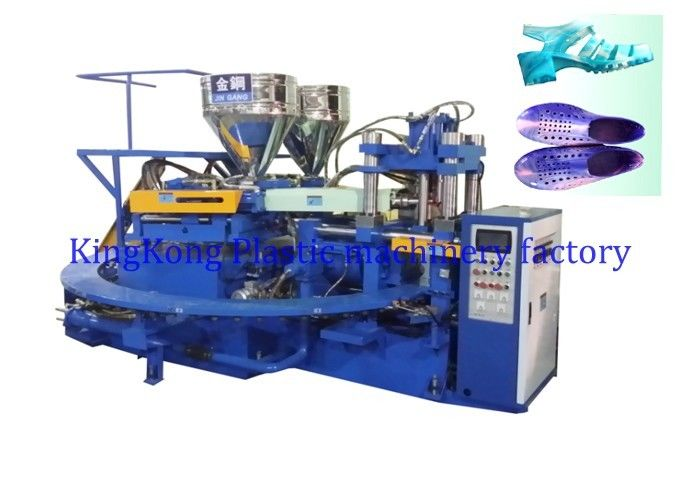 Auto PVC Jelly Bean Sandals Shoe Manufacturing Machines For Clear Jelly Sandals